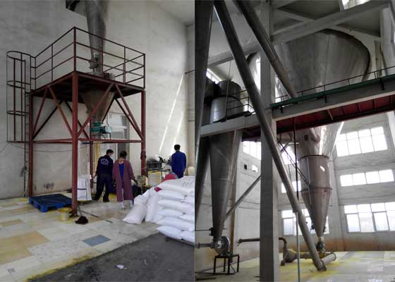 Spray Drying PAC Production