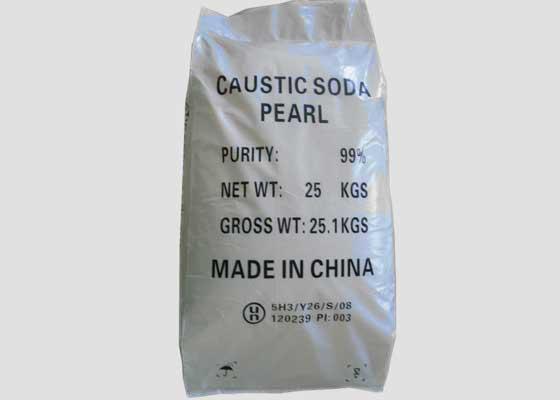 Caustic Soda Pearl 25kg Package