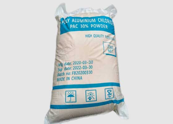 Poly Aluminium Chloride PAC 30% Package